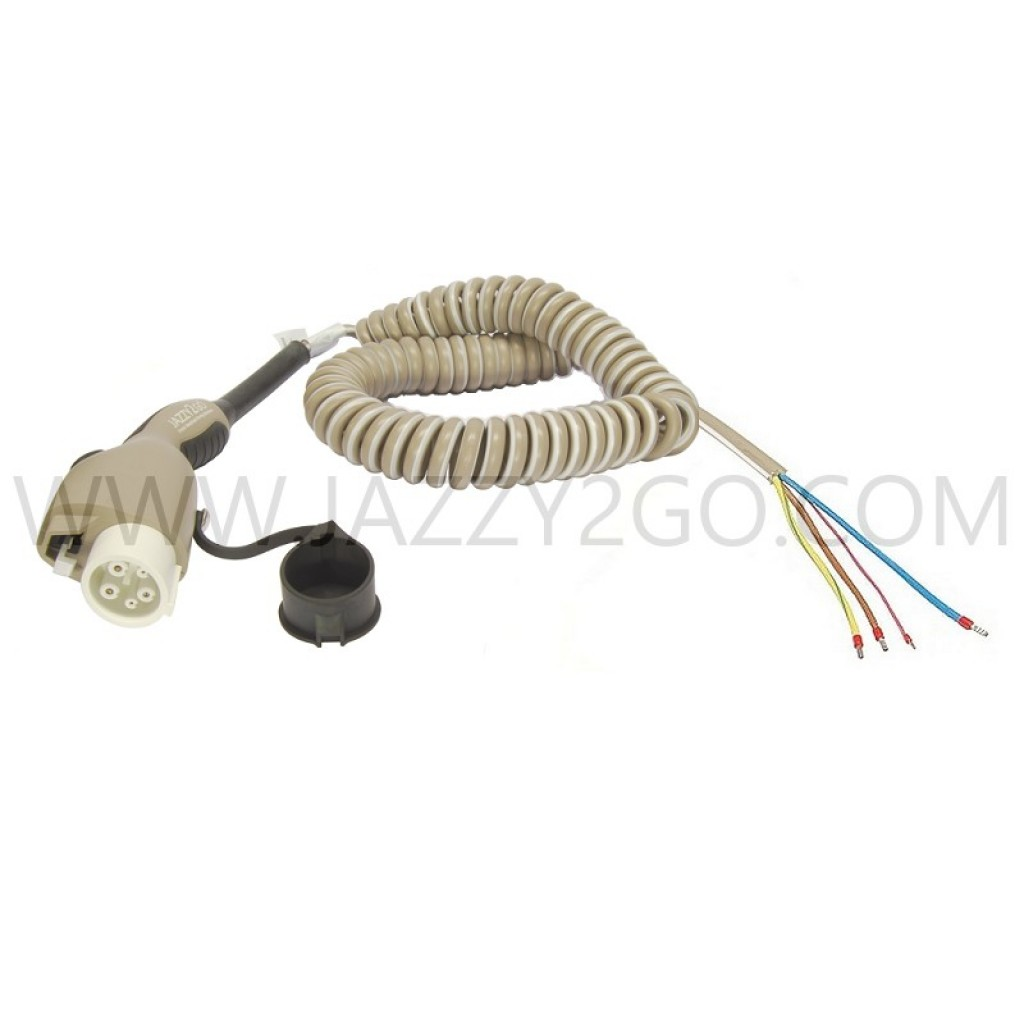 Coil Charging Cable 1 Phase - 16A Car plug Type 1 / permanent attachment mode 3
